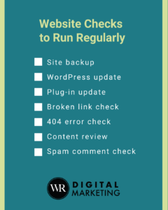 Website Checks You Should Run Regularly